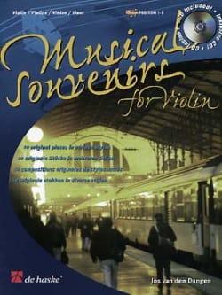 Jos van den Dungen - Musical Souvenirs - Violin - Sheet Music - di-arezzo.com