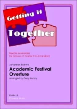 Johannes Brahms - Ouverture Festival Academic - Partition - di-arezzo.fr