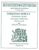 Tarquinio Merula - Canzonas 9-12 in four parts SATB - Sheet Music - di-arezzo.com