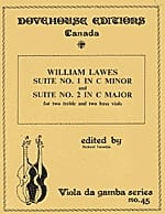 William Lawes - Suite n ° 1 in C minor and n ° 2 in C major - 2 treble 2 bass rapes - Sheet Music - di-arezzo.com