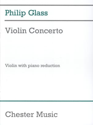 Philip Glass - Concerto pour Violon (1987) - Partition - di-arezzo.fr