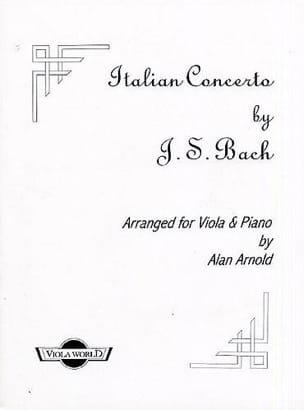 Johann Sebastian Bach - Italian Concerto BWV 971 - Partition - di-arezzo.fr
