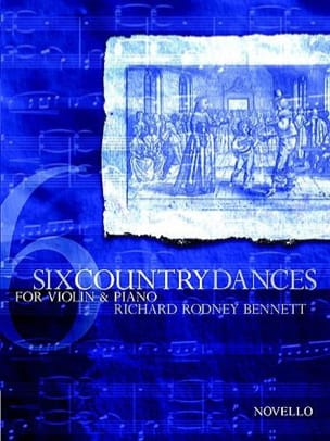 Bennett Richard Rodnet - Six Country Dances - Partition - di-arezzo.fr