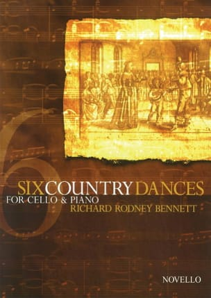 Richard Rodney Bennett - 6 Country Dances - Partition - di-arezzo.fr