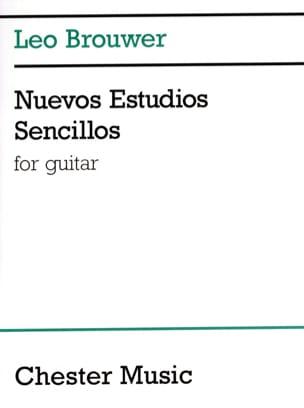 Nuevos Estudios Sencillos - BROUWER - Partition - laflutedepan.com