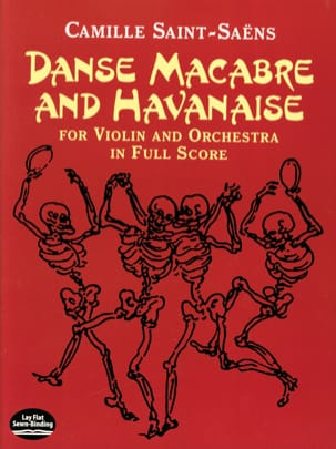 Camille Saint-Saëns - Dance Macabre and Havanese - Full Score - Sheet Music - di-arezzo.co.uk