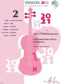 Dizès Maryvonne Le - Violin 20-21 - Volume 2 - Sheet Music - di-arezzo.com