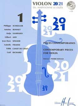 Dizès Maryvonne Le - Violin 20-21 - Volume 1 - Sheet Music - di-arezzo.co.uk