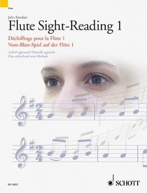 Kember John / Ramsden Catherine - Flute Sight Reading - 1 - Partition - di-arezzo.fr