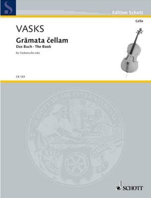 Peteris Vasks - Gramata Cellam - Sheet Music - di-arezzo.com