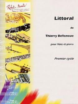 Littoral Thierry Bellenoue Partition Flûte traversière - laflutedepan