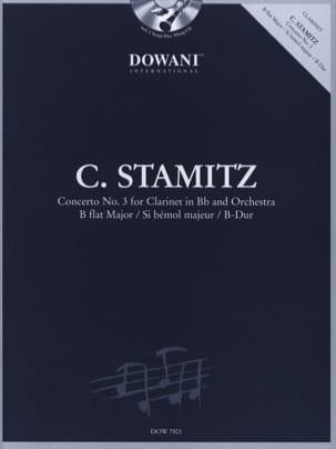Carl Stamitz - Concerto pour clarinette n° 3 en sib maj. - Partition - di-arezzo.fr