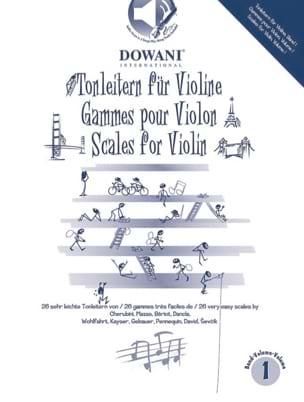 - Gammes Pour le Violon Volume 1 - Partition - di-arezzo.fr