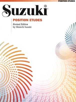 Position Etudes - Suzuki - Partition - Violon - laflutedepan.com