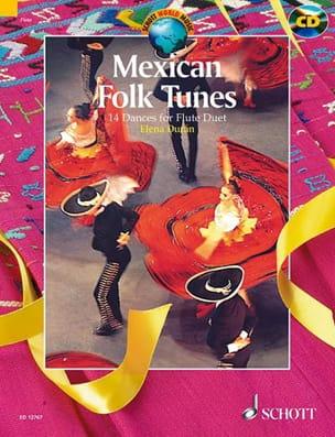 Elena Duran - Mexican Folk Tunes - Partition - di-arezzo.fr