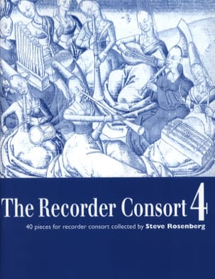 The Recorder Consort - Volume 4 Partition Flûte à bec - laflutedepan