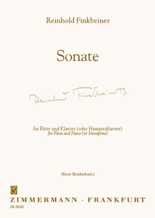 Reinhold Finkbeiner - Sonate – Flöte Klavier - Partition - di-arezzo.fr