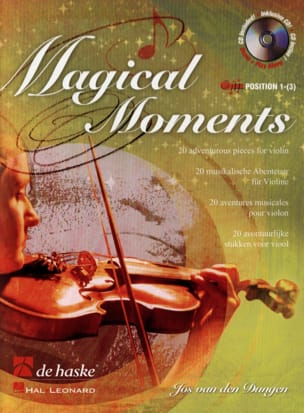 Den Dungen Van - Magical Moments - Sheet Music - di-arezzo.co.uk