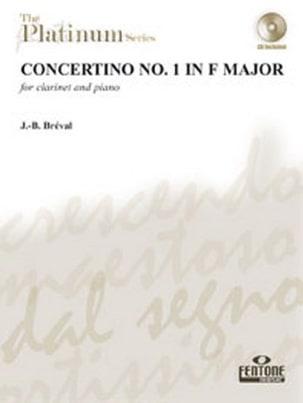 Jean-Baptiste Bréval - Concertino n° 1 in F major - Clarinet - Partition - di-arezzo.fr