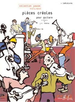 Pièces créoles - Jean-Christophe Hoarau - Partition - laflutedepan.com