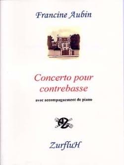 Concerto pour contrebasse - Francine Aubin - laflutedepan.com