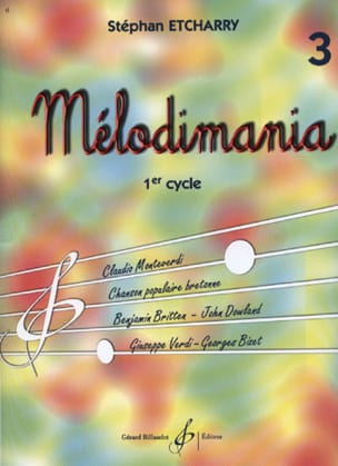 Stéphan Etcharry - Melodimania Volume 3 - Sheet Music - di-arezzo.com
