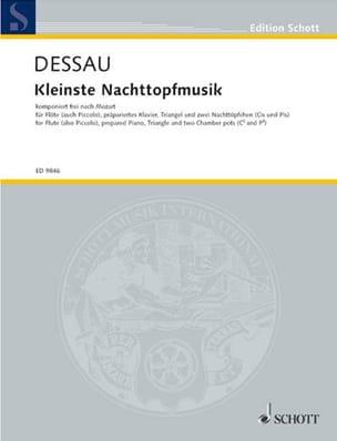 Paul Dessau - Kleinste Nachttopfmusik - Partition - di-arezzo.fr