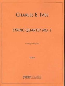 String quartet n° 1 – Parts - Charles E. Ives - laflutedepan.com