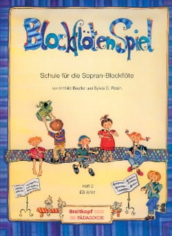 Beutler Irmhild / Sylvia C. Rosin - Blockflötenspiel - Heft 2 - Partition - di-arezzo.fr
