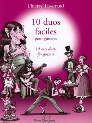 Thierry Tisserand - 10 easy Duos - Sheet Music - di-arezzo.co.uk