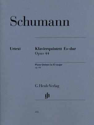 SCHUMANN - Klavierquintette Es-Dur op. 44 - Stimmen - Partitura - di-arezzo.it