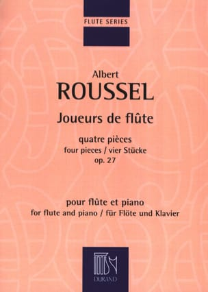 Albert Roussel - Flute players - Sheet Music - di-arezzo.com