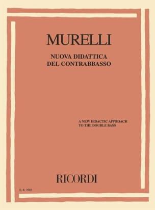 Piermario Murelli - Nuova Didattica del contrabbasso - Sheet Music - di-arezzo.com