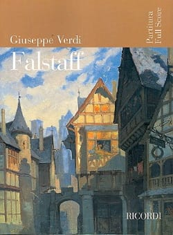 VERDI - Falstaff new ed. - Partitur - Sheet Music - di-arezzo.co.uk