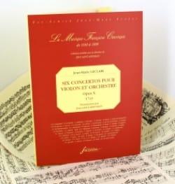6 Concertos pour violon et orchestre op. 10 -Fac similé - laflutedepan.com