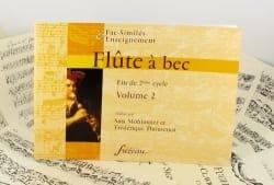 Flûte à Bec Vol. 2 - Fin de 2eme Cycle laflutedepan