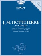 Jacques (Le romain) Hotteterre - Suite op. 5 n° 4 en ré min. – Treble recorder Bc - Partition - di-arezzo.fr