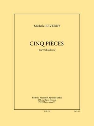 Michèle Reverdy - 5 Pièces - Partition - di-arezzo.fr