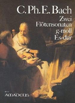 Carl Philipp Emanuel Bach - 2 Sonaten f. Flöten u. obl. Cembalo g-moll, Es-Dur - Sheet Music - di-arezzo.co.uk