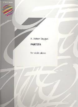 Prélude de la Partita Op. 36 - A. Adnan Saygun - laflutedepan.com