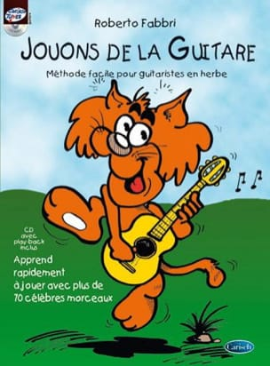 Roberto Fabbri - Let's play the guitar - Sheet Music - di-arezzo.co.uk