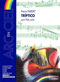 Triptico - Pierre Fardet - Partition - laflutedepan.com