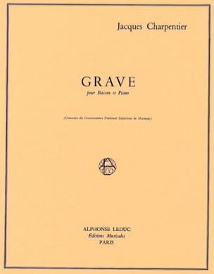 Jacques Charpentier - Serious - Sheet Music - di-arezzo.com
