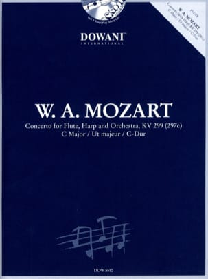 MOZART - Concerto in C major KV 299 297c - Sheet Music - di-arezzo.com