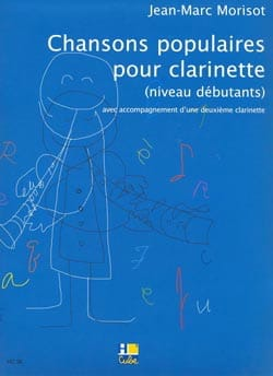 Jean-Marc Morisot - Popular songs for clarinet - Sheet Music - di-arezzo.com
