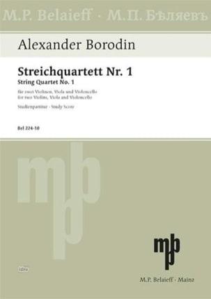 Streichquartett Nr. 1 A-Dur - Partitur - laflutedepan.com