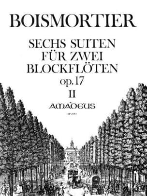 6 Suiten für 2 Blockfloten op. 17, Heft 2 - laflutedepan.com