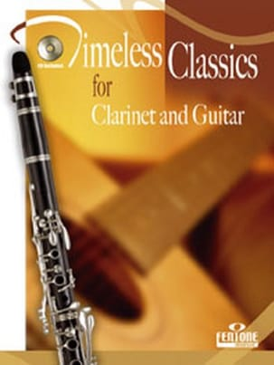 Timeless Classics for clarinet and guitar Partition laflutedepan