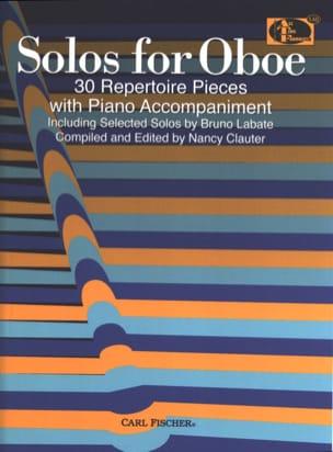 Solos for Oboe - Partition - Hautbois - laflutedepan.com