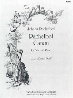Johann Pachelbel - Canon - Piano Flute - Sheet Music - di-arezzo.co.uk